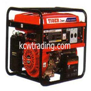 ปั๊มลม ปั๊มลมพูม่า ปั๊มลมPuma อะไหล่ปั๊มลมพูม่า ขายปั๊มลม - เครื่องกำเนิดไฟฟ้า TIGER รุ่น EC-6500AE