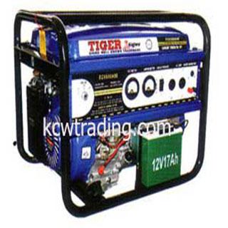 ปั๊มลม ปั๊มลมพูม่า ปั๊มลมPuma อะไหล่ปั๊มลมพูม่า ขายปั๊มลม - เครื่องกำเนิดไฟฟ้า-TIGER-รุ่น-EC-6500ASE