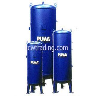 ปั๊มลม ปั๊มลมพูม่า ปั๊มลมPuma อะไหล่ปั๊มลมพูม่า ขายปั๊มลม - ถังพักลมแบบนอน-Air-Receiver-Tank
