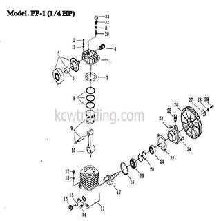 ปั๊มลม ปั๊มลมพูม่า ปั๊มลมPuma อะไหล่ปั๊มลมพูม่า ขายปั๊มลม - Cylinder-Head-Set