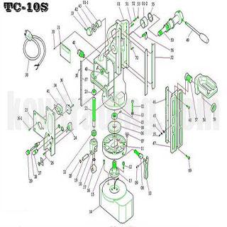 ปั๊มลม ปั๊มลมพูม่า ปั๊มลมPuma อะไหล่ปั๊มลมพูม่า ขายปั๊มลม - อะไหล่แท่นแม่เหล็ก-TC-10S