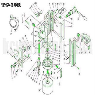 ปั๊มลม ปั๊มลมพูม่า ปั๊มลมPuma อะไหล่ปั๊มลมพูม่า ขายปั๊มลม - อะไหล่แท่นแม่เหล็ก-TC-10R